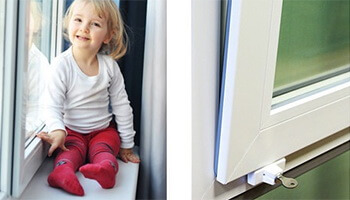 Как выбрать детский замок для пластикового окна