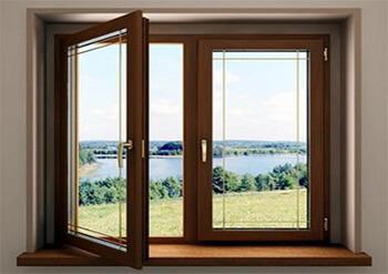 Коричневые окна – стильное и современное решение